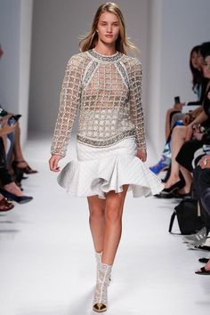 Balmain Spring 2014 Ready-to-Wear Collection