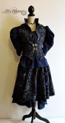 Site officiel My Oppa - site My Oppa Steampunk, Creations, Goth, Victorian, Fashion Outfits, Dresses, Style, Fashion Ideas, Outfit