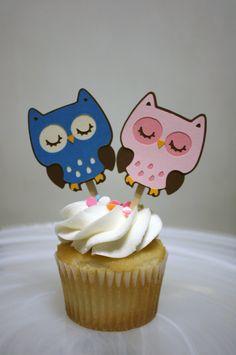 MINI OWL CAKES - Google Search