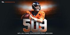Peyton Manning breaks Brett Favre's record with 509 TD passes