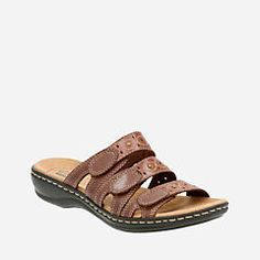 567eb5dd92a Leisa Cacti Q Brown Multi - Clarks® Sandals for Women - Clarks® Shoes Clarks