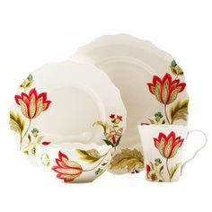 Found it at Joss & Main - 16-Piece April Porcelain Dinnerware Set