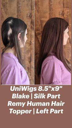 Hair Toppers, Remy Human Hair, Hair Loss, Dreadlocks, Long Hair Styles, Silk, Beauty, Women, Losing Hair