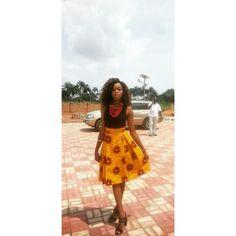 #africanfashion #africaninspired #skirt #africanprint
