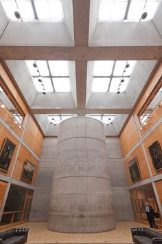 Louis Kahn. Yale Center for British Art, New Haven, Ct. 1966
