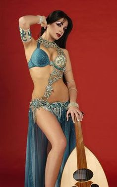 Belly dancer outfit