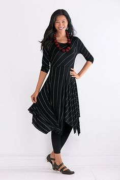 c5ac7956f7d Nocturne Tunic Dress by Mariam Heydari  Knit Tunic available at  www.artfulhome.com