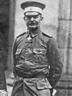 Genius in the art of bush warfare: German general Paul von Lettow-Vorbeck