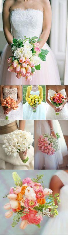 liebelein-will, Hochzeitsblog - Hochzeit, Blog, Tulpen, Brautstrauß