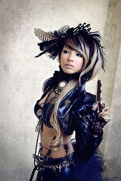 steampunk girl   Tumblr