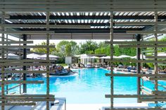 Our cabanas are the gateways to our heavenly pool!