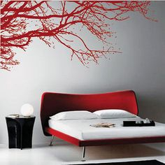 Large Tree Branch Art Wall Stickers/Wall Decals | eBay