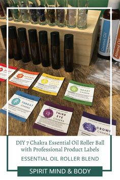 Using high quality essential oils along with high vibrational healing crystals, yu can make these diy chakra healing rollerballs with essential oils specifically for each chakra. My favorite is the solar plexus chakra essential oil. It aides in manifesting abundance. Add professional looking high quality labels. Print your own labels or save time with a print service. Essential Oils For Anxiety, Essential Oil Blends, Root Chakra Healing, Sacral Chakra, Chakras, Meditation Kids, Plexus Products, Pure Products, Chakra Balancing