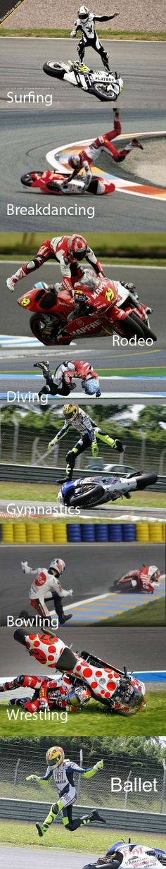 Sports That Can Be Combined With Motorcycle Racing| via @GiantGag
