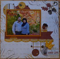 Fall layout Echo Park Reflections of Fall by Lori Whitlock