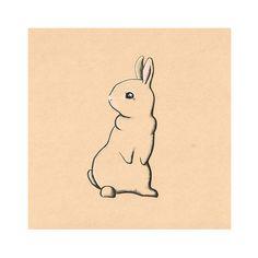 Original Art Print Bunny Rabbit  - Cute drawing, childrens art, girls room decoration, simple drawing, peter rabbit on Etsy, $23.00