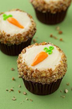 Yummie carrot cak cupcakes