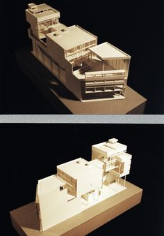 Casa Curutchet by Le Corbusier Model study