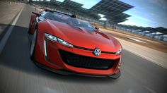 Originally unveiled just last month, the brand new Volkswagen GTI Roadster Vision Gran Turismo is being placed into the spotlights once again, this time with the help of a new clip, which has been released by the car manufacturer. The one-off vehicle has been created for the Gran Turismo 6 video game.