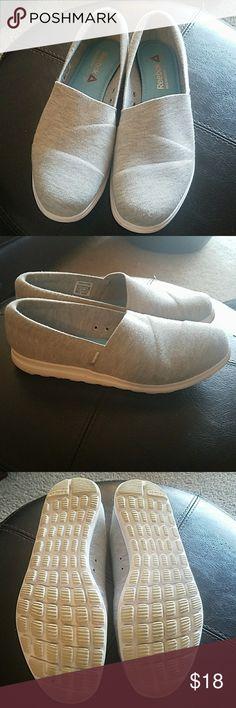Heather Gray Reeboks Comfortable memory tech 365 Reebok Shoes