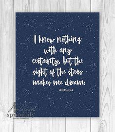 Van Gogh Quote. Sigh