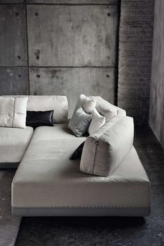 Modular fabric sofa SANDERS | Modular sofa - @ditreitalia