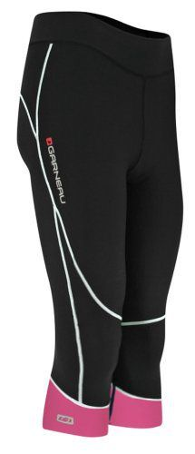 Louis Garneau Women's Journey Knicker Medium Black/Pink - http://ridingjerseys.com/louis-garneau-womens-journey-knicker-medium-blackpink/
