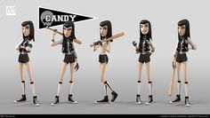 Candy by Andrew Hickinbottom | 3D | CGSociety