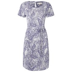 BuyWhite Stuff Ceramicist Jersey Dress, Oceania Blue, 6 Online at johnlewis.com