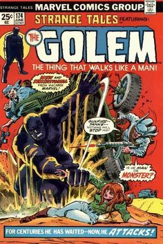 featuring The Golem...