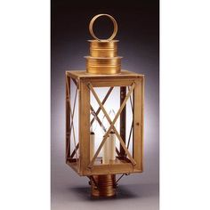 Northeast Lantern Suffolk Chimney Can Top X-Bars 1 Light Lantern Head Finish:
