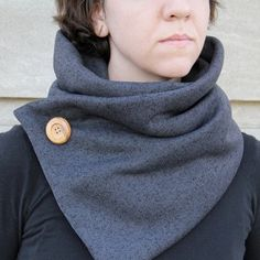 Stay snuggly warm this fall in a quick, knit-inspired cowl.