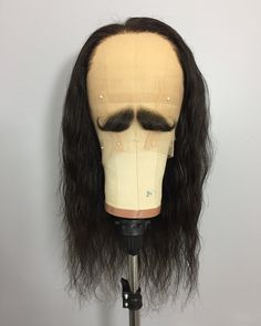 """941 Likes, 38 Comments - Wig Maker • Montréal (@hairsay514) on Instagram: """"And if there are any gentlemen out there who are fans of Yanni or the Three Musketeers, I can make…"""""""