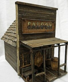 antique style birdhouse old west birdhouse by LynxCreekDesigns Bird House Plans, Bird House Kits, Old West, Wood Projects, Woodworking Projects, Bird House Feeder, Bird Feeders, Saloon, Bird Houses Diy