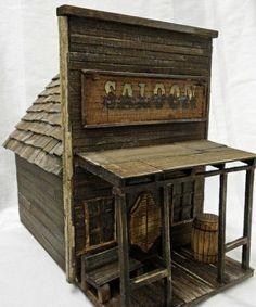 antique style birdhouse old west birdhouse by LynxCreekDesigns Bird House Plans, Bird House Kits, Bird Houses Diy, Fairy Houses, Old West, Wood Projects, Woodworking Projects, Bird House Feeder, Bird Feeders