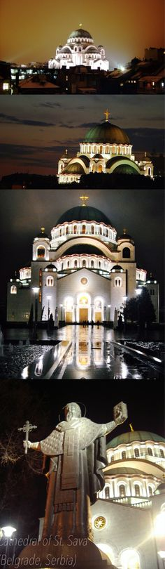 Belgrade, Serbia, the Cathedral of Saint Sava is the biggest Orthodox church in the world and is dedicated to non other than the founder of Serbian Orthodox Church – Saint Sava. i will visit this one day
