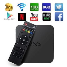 Globmall MXQ Android TV Box Quad Core Media Player FREE SHIPPING CANADA NO TAX