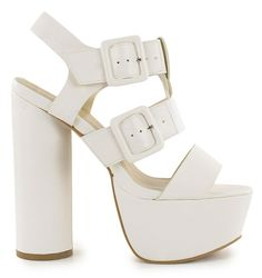 peachical:    astrolily:    White heels are for hookers… but I love these!    Love em