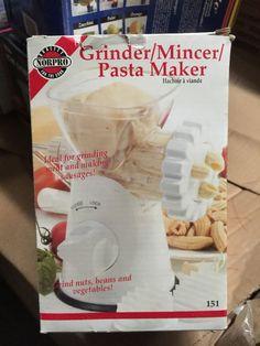 Norpro Hand Meat Grinder/Mincer/Pasta Maker Model 151 #Norpro