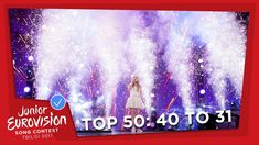 TOP 50: Most watched in 2017: 40 TO 31 - Junior Eurovision Song Contest