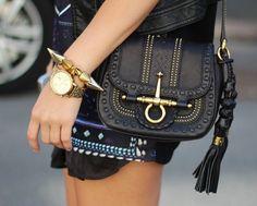 Snaffle Bit Shoulder Bag by Gucci