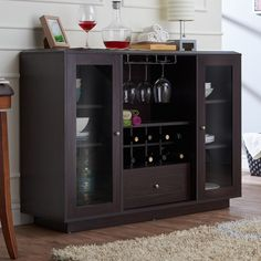 Shop for Furniture of America Karthen Espresso Multi-Storage Dining Buffet. Get free delivery at Overstock - Your Online Furniture Shop! Get in rewards with Club O! Wine Buffet, Dining Buffet, Buffet Server, Sideboard Buffet, Kitchen Buffet, Buffet Tables, Console Tables, Credenza, Dining Cabinet