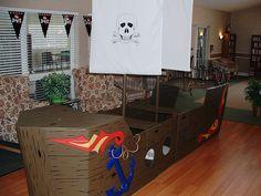 Cardboard ship inspiration