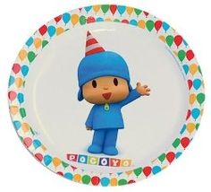 CUMPLEAÑOS POCOYO - have to have these plates!!
