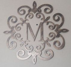 Family Initial Monogram Antique Look 20 ANY LETTER by Tibi291