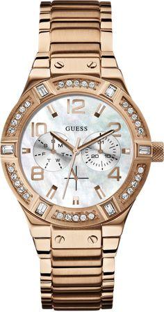Thomann Gold - Guess Uhren Jet Setter rose