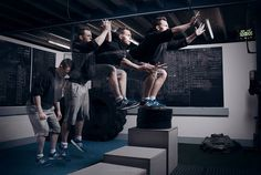 Box Jumps Crossfit