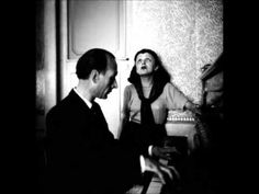 Edith Piaf  Charles Dumont Les Amants - YouTube