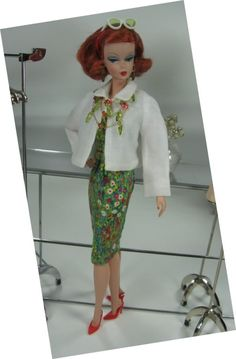 Monet in Full Swing for Silkstone Barbie