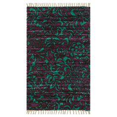 Loloi Rugs Aria Purple/Turquoise Rug & Reviews | Wayfair